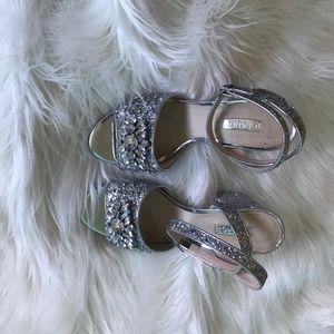 Topshop jeweled sandals
